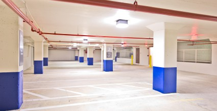 Requirements Differ for Parking Lot Sweeping and Parking Garage Maintenance