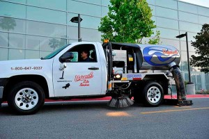 In Walnut Creek, CA Universal Site Services is a provider of parking lot sweeping services