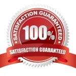 Satisfaction is 100% guaranteed for our pressure washing services