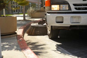 parking lot sweeping services in Pleasanton, CA