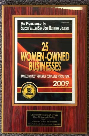 Women Owned Businesses Award 2009