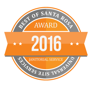 Best of Santa Rose 2016 Janitorial Service Award