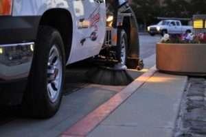 Parking Lot Sweeper in Alameda