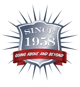 Since 1958 Above and Beyond