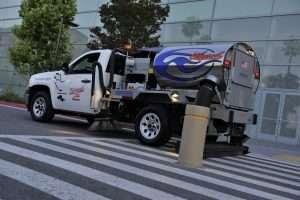 Sweeping Truck in Alameda