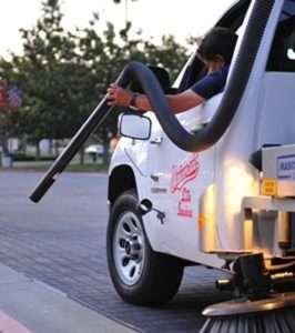 Irvine Parking Lot Maintenance - Vacuum Truck